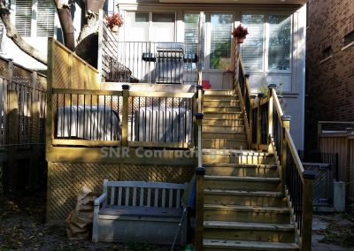 Custom Build Deck Toronto