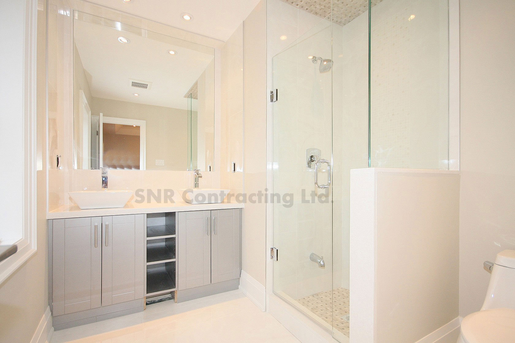 Bathroom Renovation & Construction Richmond Hill | SNR Contracting