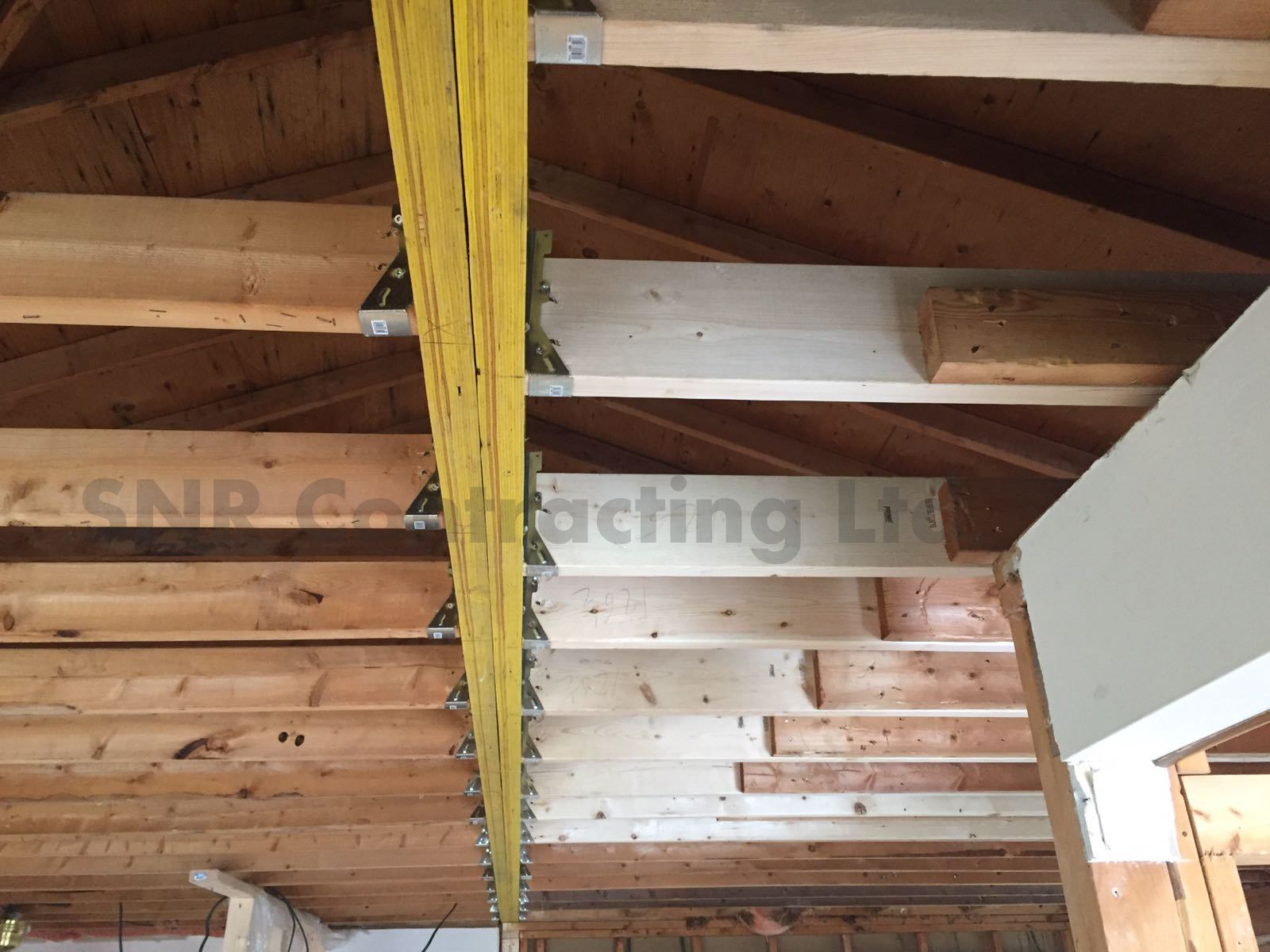 Load bearing wall removal toronto snr contracting for Removing part of a load bearing wall